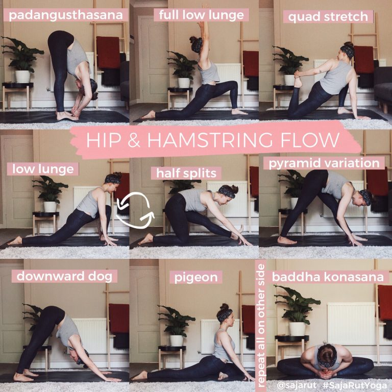 Hips & Hamstrings – A short flow to loosen up the lower body