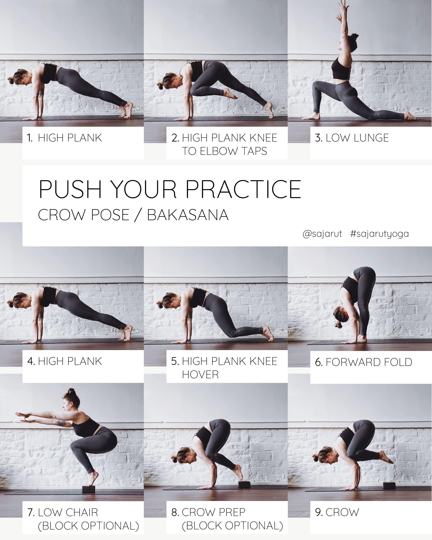 Push Your Practice: Crow Tutorial