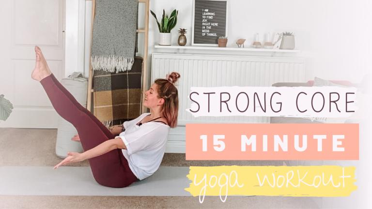 Yoga Flow Core Workout