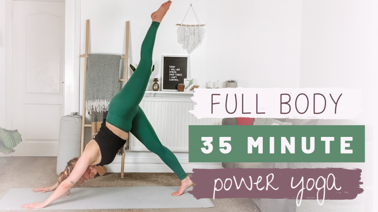 35 minute Full Body Power Yoga