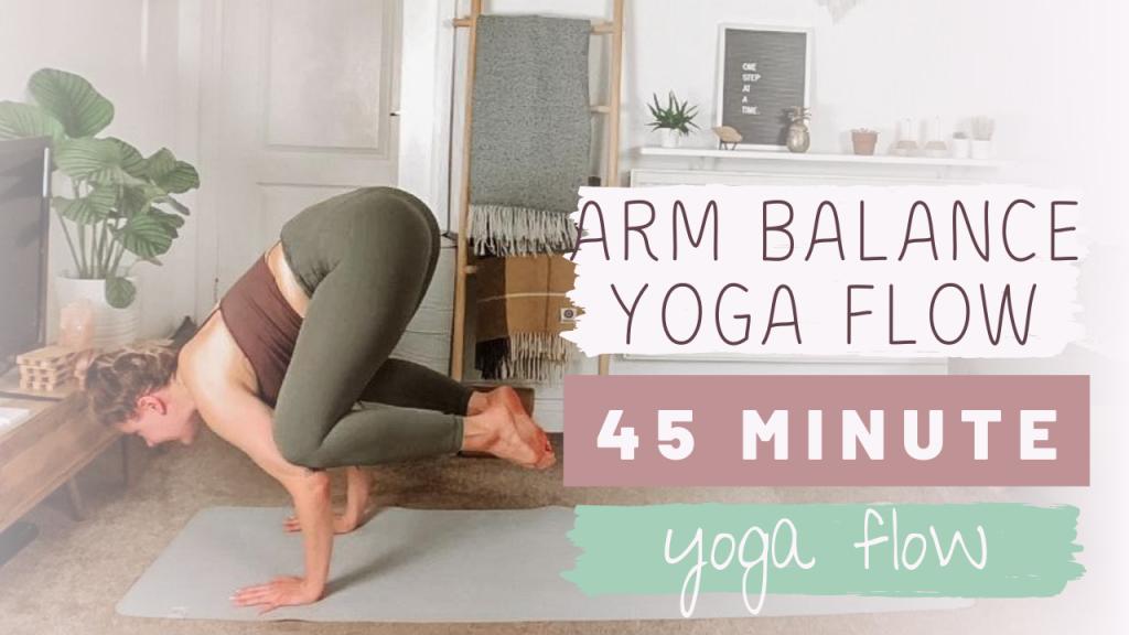 Arm Balance Yoga Flow