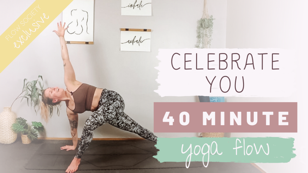 Celebrate You Playful Yoga Flow